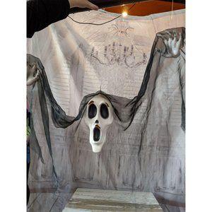 Gemmy floating ghost reaper Halloween prop decor